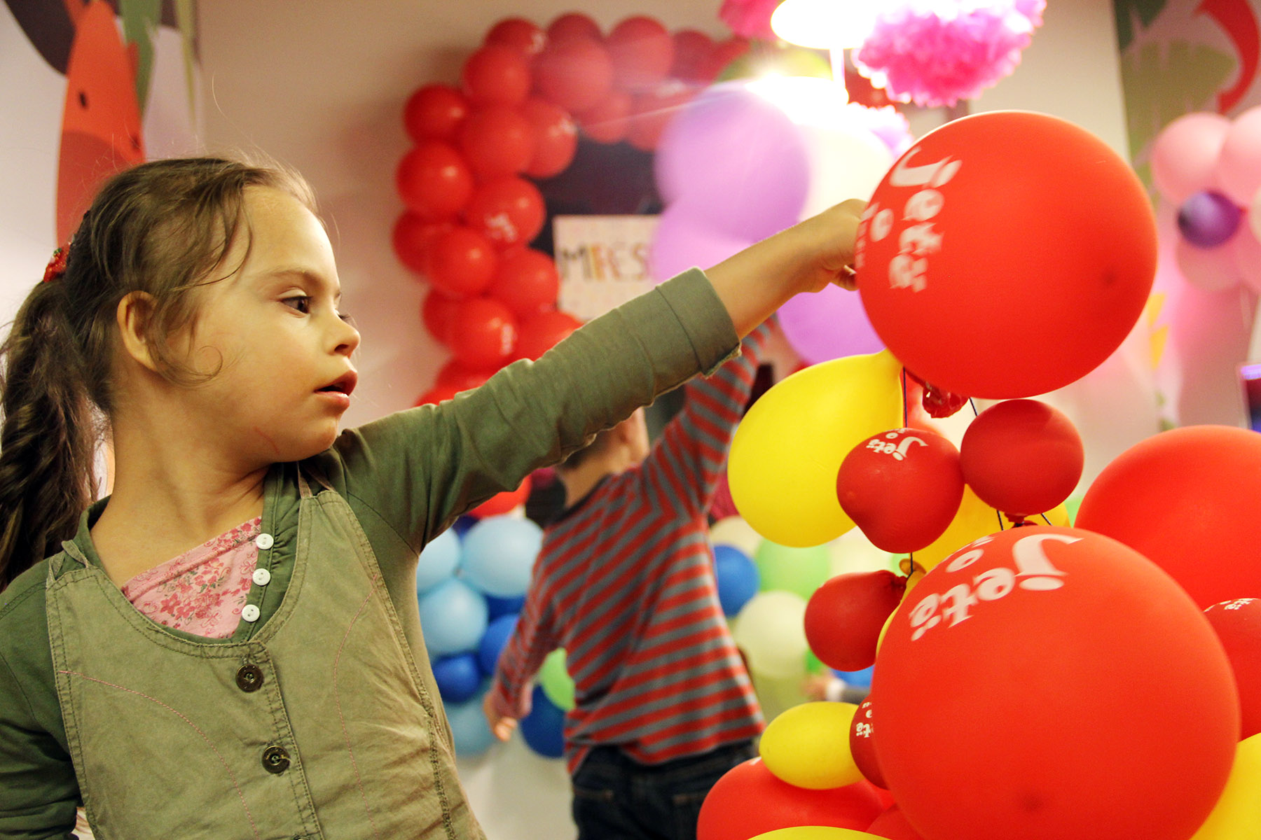 MDA Toys and fun for children of Down Syndrome Kosova and SOS