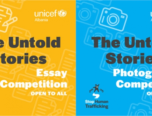 The Untold Stories, nationwide competitions held by UNICEF Albania and MDA for best photography and best short story